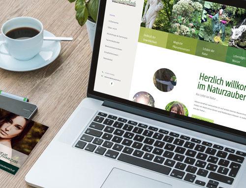 Naturzauberreich Webauftritt