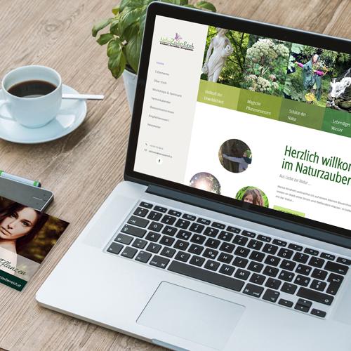 Naturzauberreich Webseite
