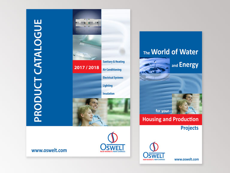 Portfolio corporate Design Oswelt