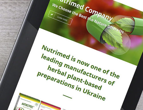 Nutrimed Ltd Webauftritt
