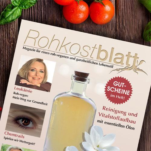 Portfolio Print Rohkostblatt