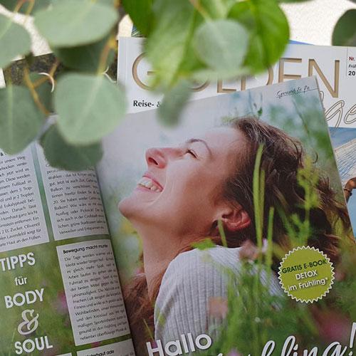 Golden Age Magazin Portfolio