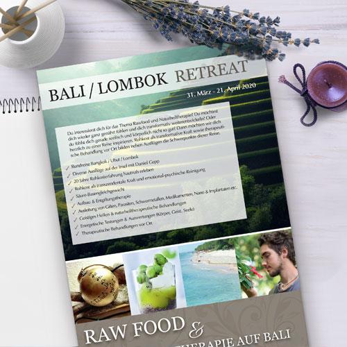 Bali flyer