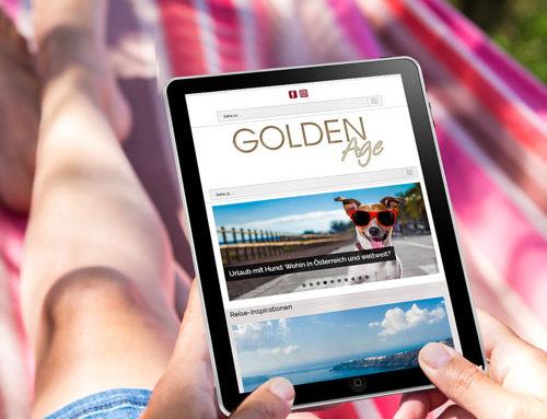 Goldenage Webauftritt