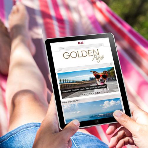 Golden Age Reise & Lifestylemagazin für die besten Jahre