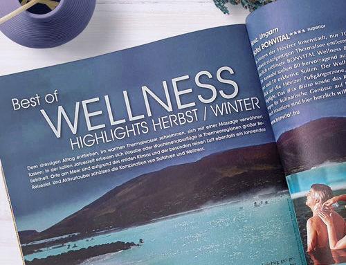 Advertorial Wellness Herbst/Winter GA Magazin